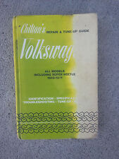 Vintage Chilton's VOLKSWAGON REPAIR/TUNE-UP GUIDE all models 1949-1971 clean pgs
