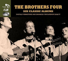 The Brothers Four SIX (6) CLASSIC ALBUMS Roamin' SONG BOOK In Person NEW 4 CD