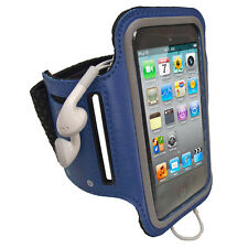 Blue Sports Armband for iPod Touch 4th 3rd 2nd Gen 4G 3G 2G Gym Running Jogging