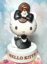 Hello Kitty 40th Anniversary figurine collectibles-elegant brown hair style
