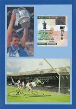 Coventry City FC 1987 FA Cup Final Keith Houchen signed re-print