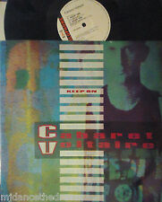 "CABARET VOLTAIRE ~ Keep On ~ 12"" Single PS"