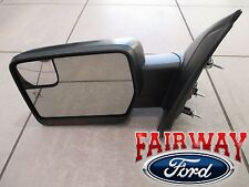 11 thru 14 F-150 OEM Ford Power Fold Heated Signal Puddle Mirror LH Driver NEW