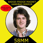 Bay City Rollers -Les- 58 mm BADGE-FRIDGE MAGNET-BAG MIRROR
