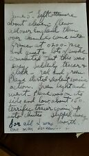Copy of WW2 June 1944 diary Staff Serg. Murray Goldman 3rd Medical Bat. 82nd Air