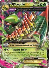 Pokemon TCG XY ANCIENT ORIGINS : MEGA M SCEPTILE EX 8/98