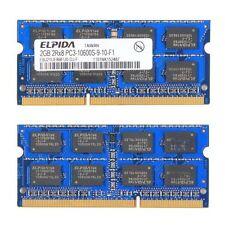 Ram Sodimm DDR3 133 DDR3-1333 DDR 3 - 2GB PC3-10600S-9-10-F1 ELPIDA