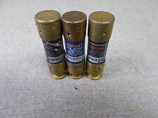Fusetron FRN-R-2-1/2 Lot of 3 250V 2.5A Class RK5 Fuses *FREE SHIPPING*