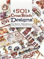 501 Cross Stitch Designs, Sam Hawkins, Good Book