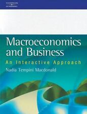 Macroeconomics and Business : An Interactive Approach by Nadia Tempini...