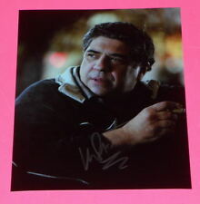 VINCENT PASTORE THE SOPRANOS BIG PUSSY SIGNED 8X10 PHOTO  *EXACT PROOF*