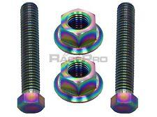 Rainbow Titanium Axle Chain Adjuster Bolts - Honda Cbr1000Rr Fireblade 04-05