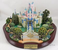 Disneyland 2015 60th Diamond Celebration Sleeping Beauty Castle SIGNED Olszewski