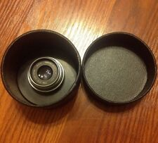 RARE Bausch & Lomb Optical Co. 72mm F/4.5 Micro Tessar Lens With Case