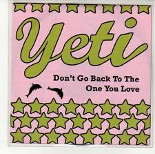 (EN560) Yeti, Don't Go Back To The One You Love - 2008 DJ CD