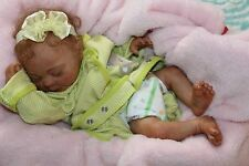 Reborn doll sweet preemie baby girl Lilly with 3d skin OOAK