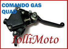 COMANDO GAS COMPLETO DI LEVA FRENO MINIQUAD ATV QUAD 50 70 90 110 125 CINESI