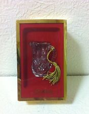 GORHAM LADY ANNE MINI CRYSTAL PITCHER ORNAMENT WITH GOLD TASSEL NEW IN BOX