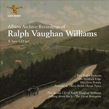 Vaughan Williams: Archive Recordings, New Music