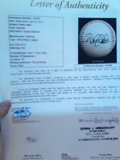 "DEREK JETER GAME USED BALL- ROOM 4 DADS NAME -MLB FATHER DAY _ CAN""T GET 4 LESS"