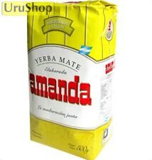 Y78 YERBA MATE AMANDA LIMON (LEMON) 500G WITH STEMS