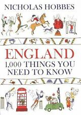 England: 1000 Things You Need to Know