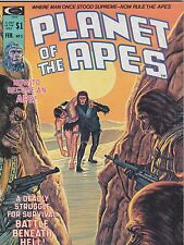 #5  FEB 1975 PLANET OF THE APES comic magazine