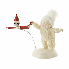 Dept 56 Snowbabies Guest Collection Elf on the Shelf Gives Flying Lesson 4051840