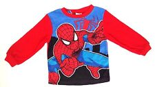 Marvel Amazing Spider-Man Boy's Toddler Polyester Pajama Long Sleeve Top Sz 3T