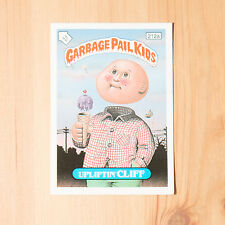 Vintage Garbage Pail Kids 1986 UK Sticker Collector's Card Upliftin' Cliff 212a
