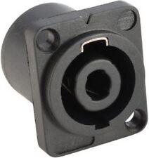 4-polige Speaker Einbaukupplung Einbaukupplungen SPKN Einbaubuchsen NEU