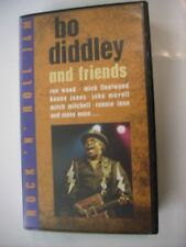 BO DIDDLEY - BO DIDDLEY & FRIENDS - VHS PAL RARE