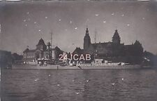 "Reichsmarine Real Photo Postcard. ""Emden"" Cruiser. WW11. Very Rare! 1926"