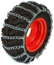 23X8.50X12 Small Tractor Utility Tire Chains 5.2mm Link Snow Blower Traction