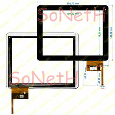 "Vetro Touch screen Digitizer 9,7"" Ployer MOMO11 Speed Dual Nero"