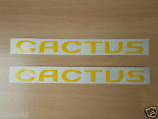 CITROEN C4 CACTUS REAR 1/4 OR MIRROR DECALS X2 IN YELLOW