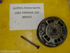 82 YAMAHA BR 250 BRAVO 83? 84? PRIMARY BELT DRIVE CLUTCH