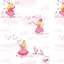 Pink Contact Paper Self Adhesive Wallpaper Wallcovering for Kids Room Nursery