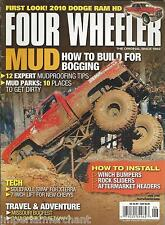 Four Wheeler magazine Mud parks Dodge Ram HD Winch bumpers Rock sliders Headers