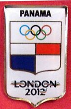 LONDON 2012 Olympic PANAMA NOC Internal team - delegation  pin