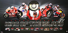 MotoGP World Champ Casey Stoner King of the Island Ltd Ed Poster Print Only 1000