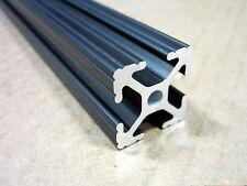 80/20 Inc 1 x 1 T Slot Aluminum Extrusion 10 Series 1010 x 12 Black H1-1