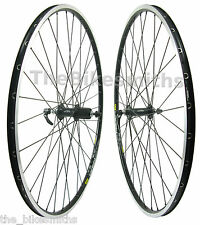Mavic Open Pro 700c Road Bike Black Wheel Set Shimano 105 Hub 8-11 Speed Black