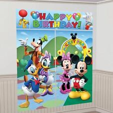 Disney Mickey Mouse Clubhouse Birthday Party Scene Setter