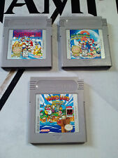 Super Mario Land 1 2 3 Trilogy Wario Nintendo Gameboy Game boy GB I II III