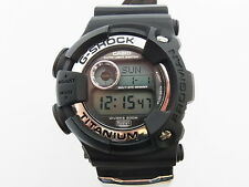 G-Shock Frogman DW-9900 WC WCCS Black Titanium Limited Casio Watch New Battery