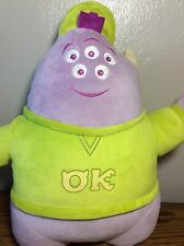 "Disney Just Play Monsters University OK Squishy Monster 12"" Tall Stuffed Plush"