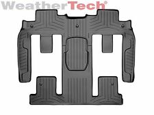 WeatherTech FloorLiner for Chevy Traverse - 2011-2017 - 2nd & 3rd Row - Black