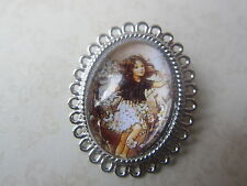 Vintage Silver Plated Pretty Flower Fairy Brooch New in Gift Bag Christmas Gift