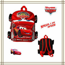 DISNEY CAR PIXAR LIGHTENING MCQUEEN BOY KIDS CHILD PRESCHOOL SCHOOL BACKPACK BAG